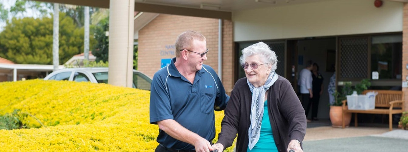 Blue Care Alexandra Hills Nandeebie Aged Care Facility