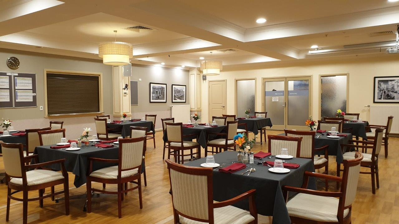 Bethel Aged Care, Mill Park VIC 3082 - Dining Room Example