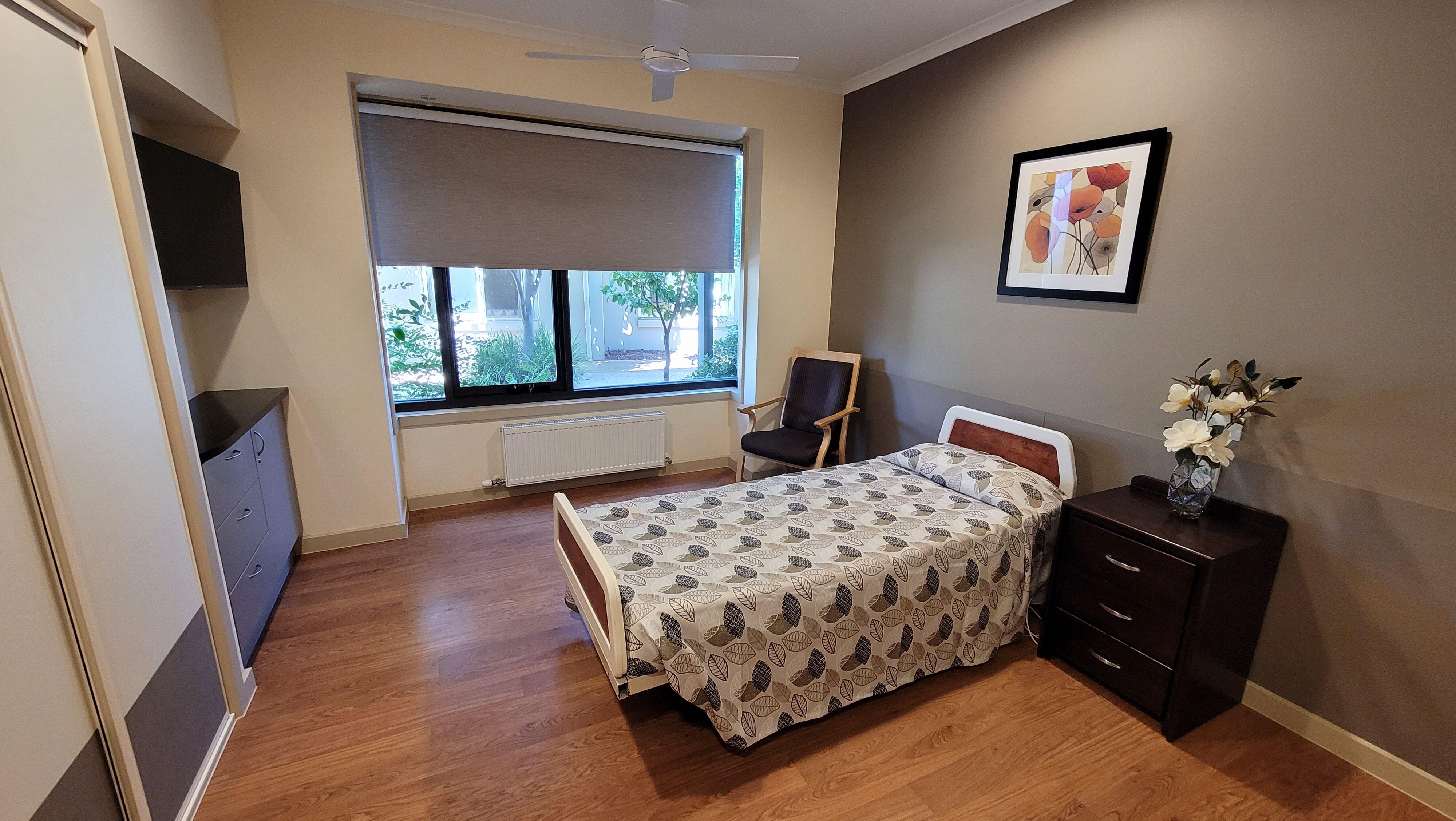 Anzac Lodge Nursing Home, Coburg North VIC 3058 - Bedroom Example 1