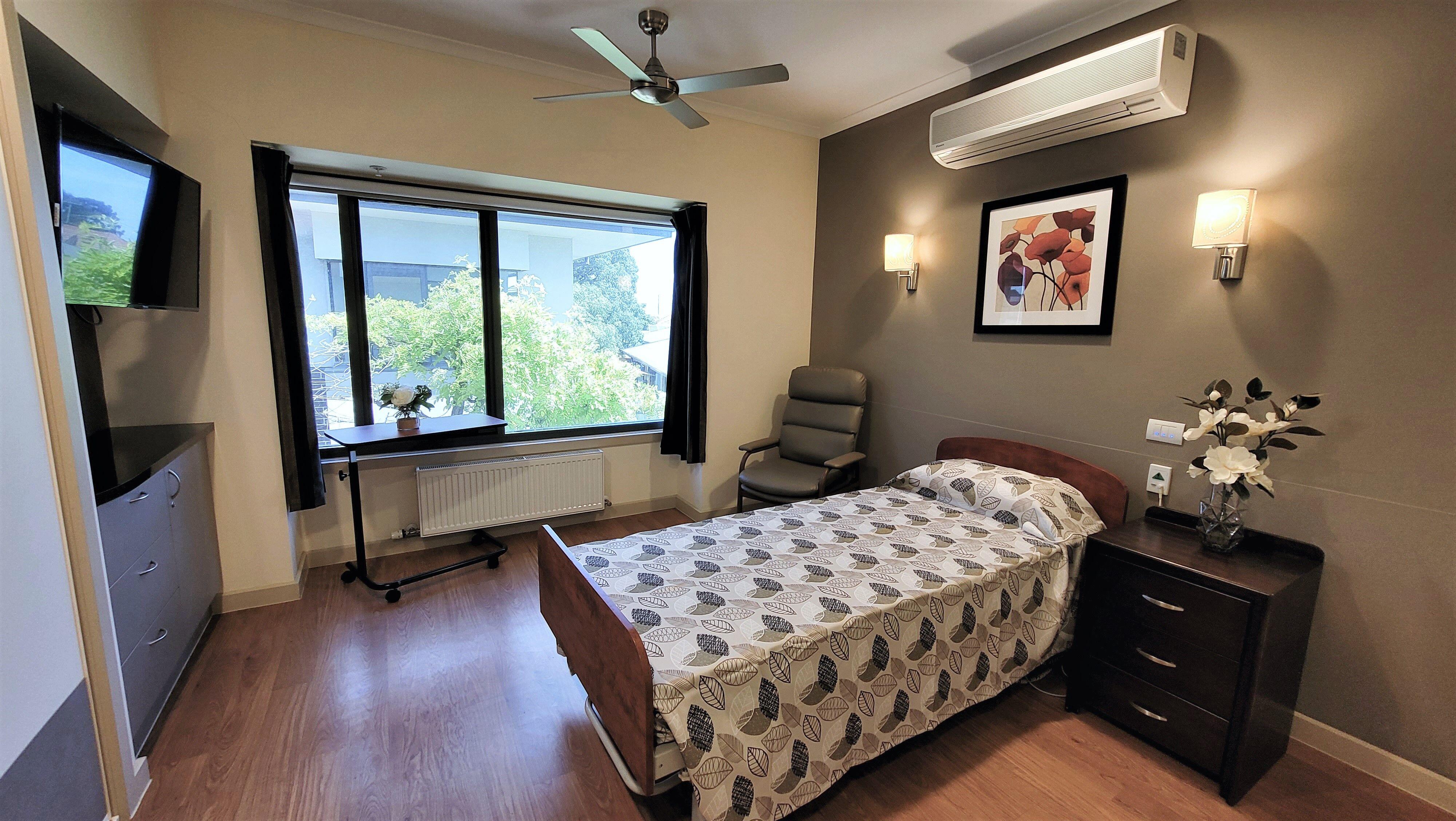 Anzac Lodge Nursing Home, Coburg North VIC 3058 - Bedroom Example 3